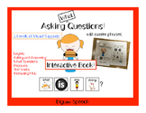 "Asking Questions: Interactive book for ""What"" Questions for Speech Therapy"