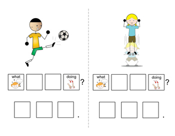 """Asking Questions: Interactive book for """"What"""" Questions for Speech Therapy"""