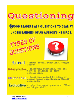 Asking Questions Lessons
