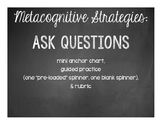Asking Questions Mini Anchor Chart and Guided Practice