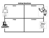 Asking Questions Organizer