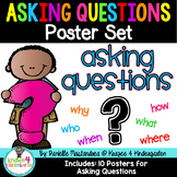 Asking Questions Poster Set {Who, What, Where, When, Why, How}