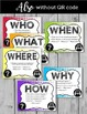 Asking Questions Poster  {Who, What, Where, When, Why, How}