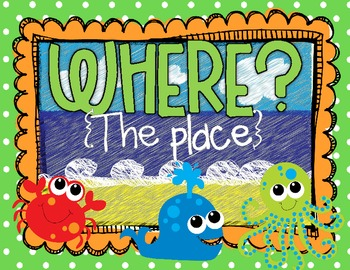 Asking Questions Posters {Who?, What?, When?, Where?, Why?, How?} CCSS