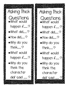 Asking Questions Prompts