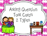 Asking Questions (Questioning) Task Cards (R.L 1.1, R.L 2.1, R.L 3.1)