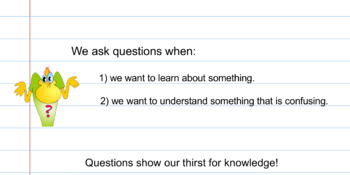 Asking Questions - SMART Notebook