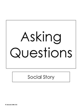 Asking Questions Social Story