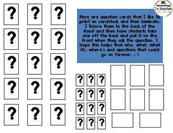 Asking Questions Social Story & Visual Supports