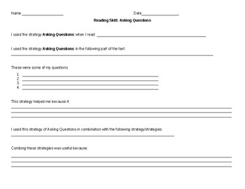 Asking Questions Strategy