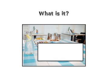 Asking Questions: What is it? Food