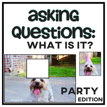Asking Questions: What is it? Party