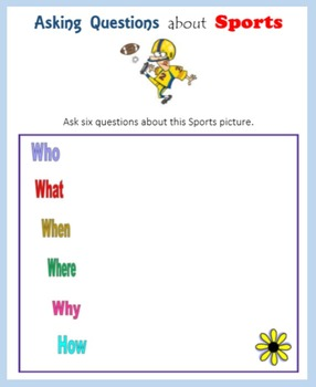 Asking Questions about Sports