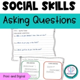 Asking Questions in a Conversation Social Skills Open & Closed Questions