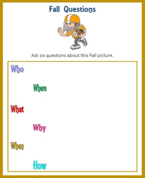 Asking Questions in the Fall (Seasons)