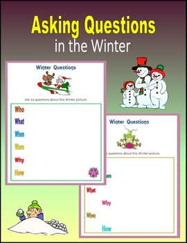Asking Questions in the Winter (Seasons)