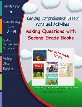 Asking Questions with Picture Books (Second Grade Super Pack) CCSS