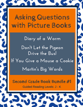 Asking Questions with Picture Books (Second Grade Book Bun