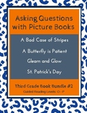 Asking Questions with Picture Books (Third Grade Book Bundle #2) CCSS