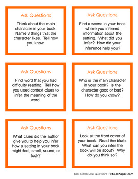 Asking Questions with Picture Books (Third Grade Book Bundle #3) CCSS