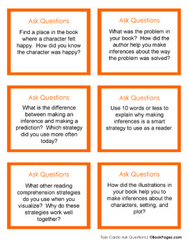 Asking Questions with Picture Books (Third Grade Super Pack) CCSS