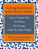 Asking Questions with Picture Books (Third Grade Book Bundle #1) CCSS