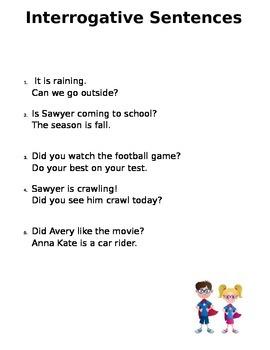 Asking Sentences