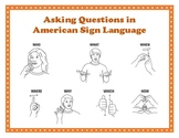 """Asking """"WH"""" Questions (ASL)"""