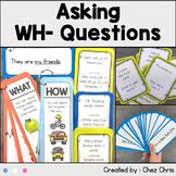 Asking WH- Questions - Activities for ESL students and you