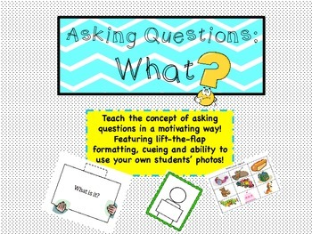 Asking Questions: What?