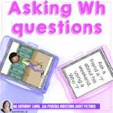 Asking Wh Questions for Speech Language or Special Education