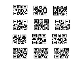 Asking Words QR Hunt