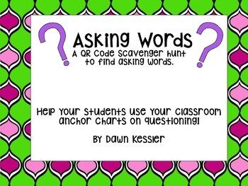 Asking Words QR Hunt