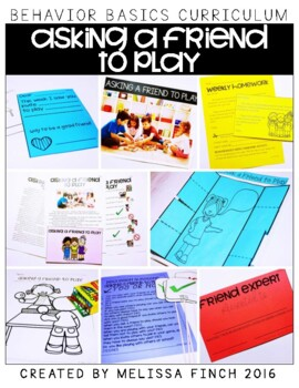 Asking a Friend to Play-  Behavior Basics Program for Special Education