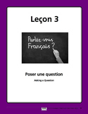 French Song and Writing Activities - How to ask a question