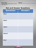 Asking and Answering Questions!