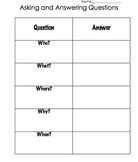 Asking and Answering Questions