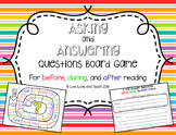 Asking and Answering Questions Board Game