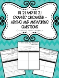 Asking and Answering Questions Graphic Organizer - RL 2.1 and RI 2.1