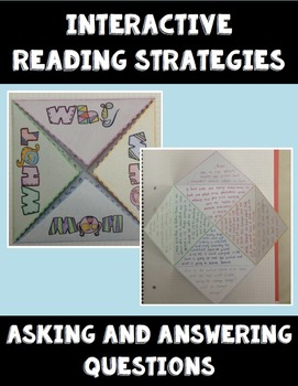 Asking and Answering Questions - Interactive Reading Strategy - ELA Crafts