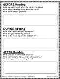 Asking and Answering Questions Graphic Organizers - RI.2 f