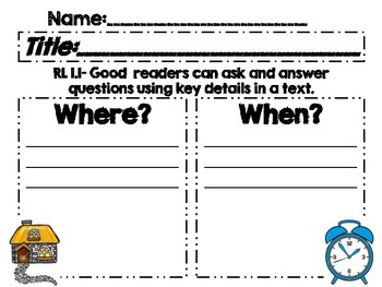 Asking and Answering Questions RL 1.1
