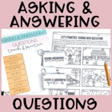 Asking and Answering Questions: Teach and Practice   WH Questions Speech Therapy