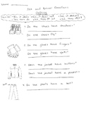 Asking and Answering Questions about Clothing
