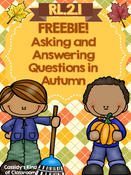Asking and Answering Questions in Autumn FREEBIE