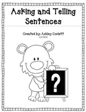 Asking and Telling Sentences