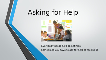 Asking for Help Social Skills Lesson