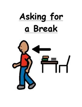Asking for a Break Social Story