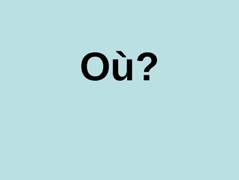 Asking questions / How to ask questions in French