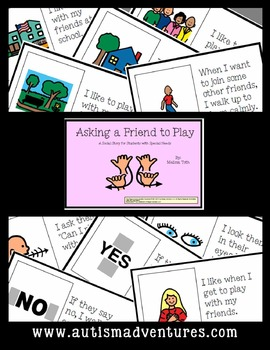 Asking to Play- Social Story for Student's with Autism